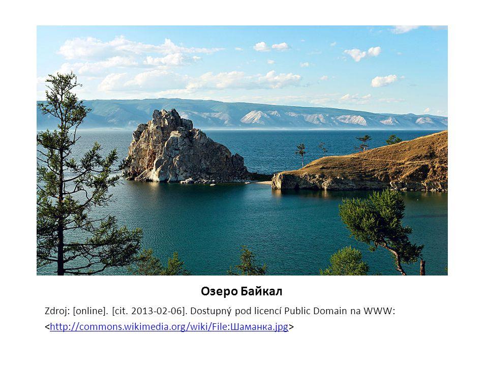 Oзеро Байкал Zdroj: [online]. [cit. 2013-02-06].